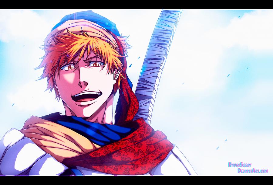 Bleach 581 - The Hero 2 by hyugasosby