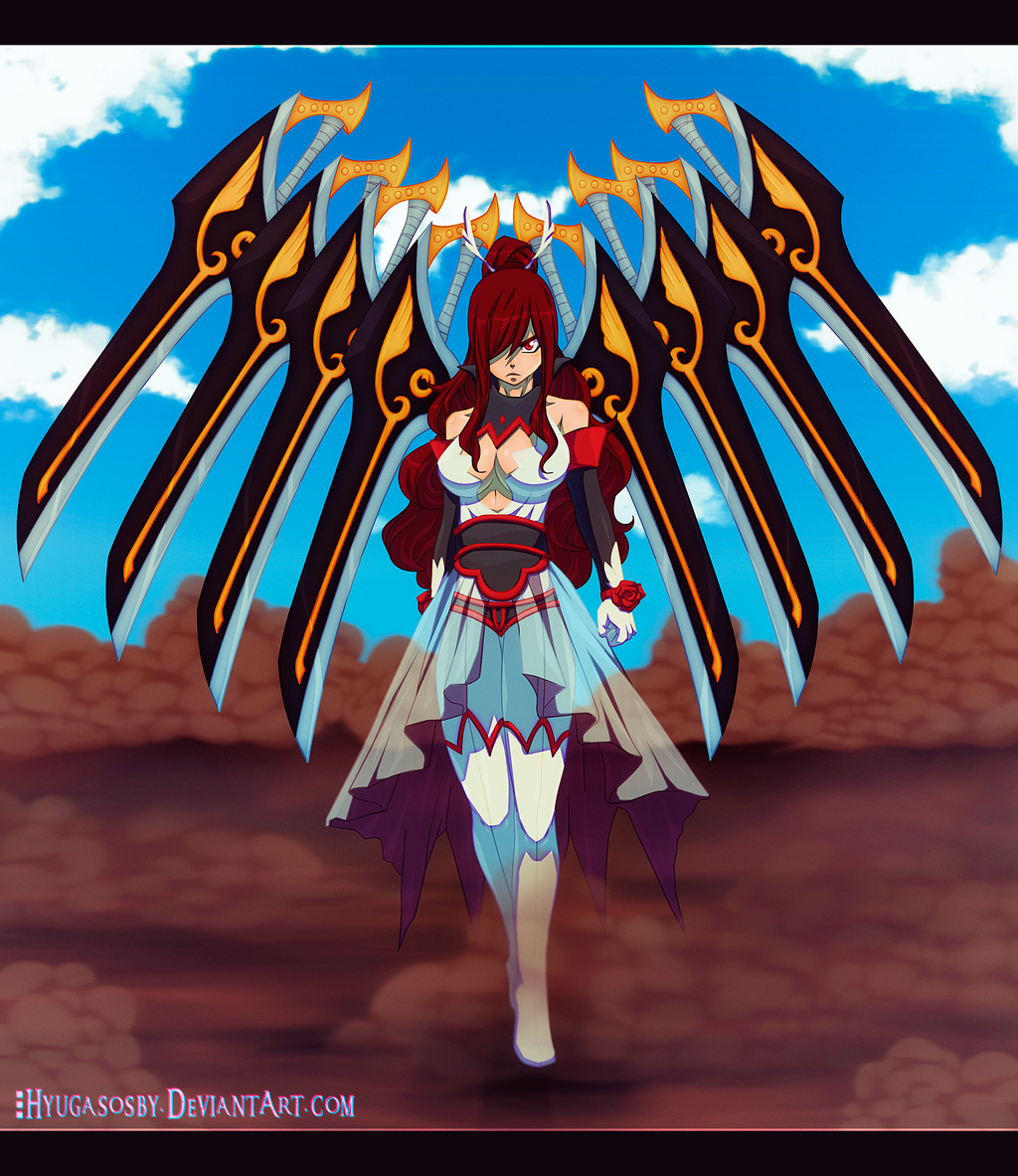 Erza Scarlet Wallpaper: Fairy Tail 431- My Sword Is By Nagadih On DeviantArt