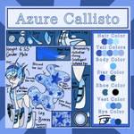 Reference Sheet of Azure Callisto
