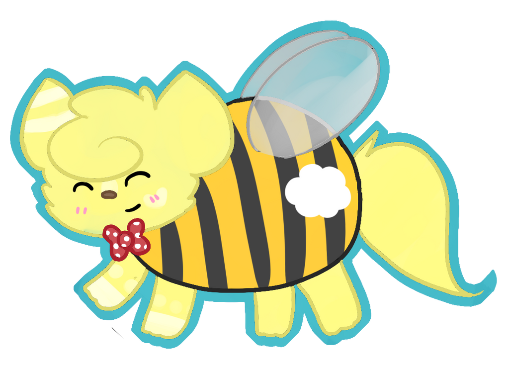 PRETTY FLY FOR A BUMBLE BEE~! by ButtermilkSky