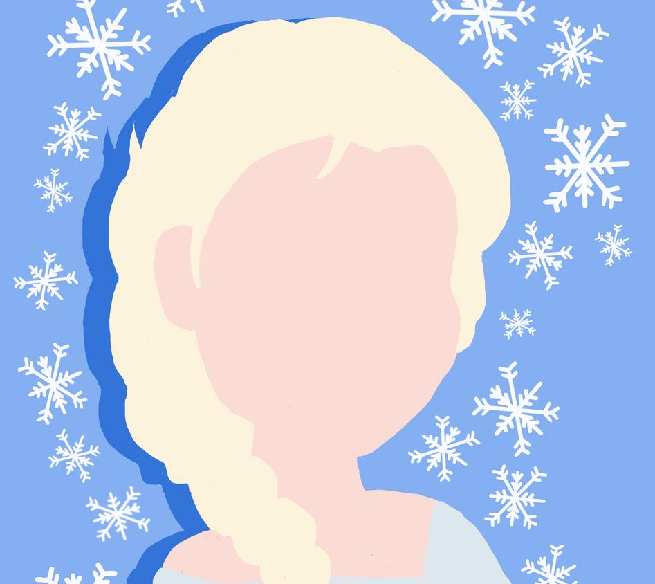 Elsa Silhouette by ButtermilkSky