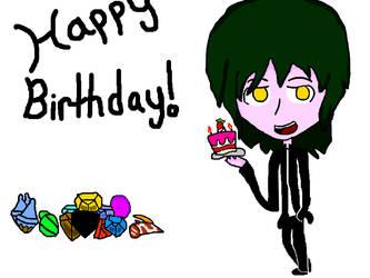 Birthday timee by QuarterKun