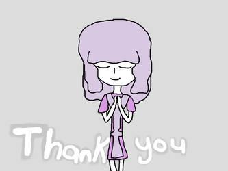 Thanks by QuarterKun