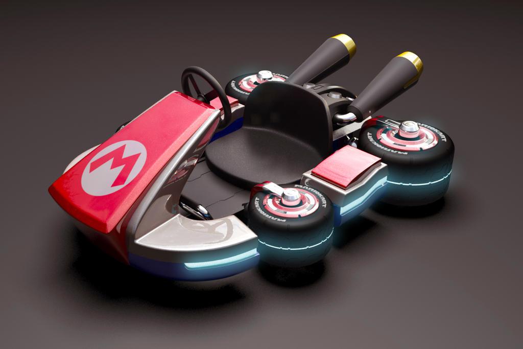 Mario Kart 8 3d Model by alfonsopyro on DeviantArt