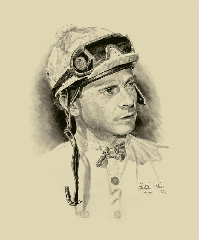 Jockey C. McCarron by Paluso4art