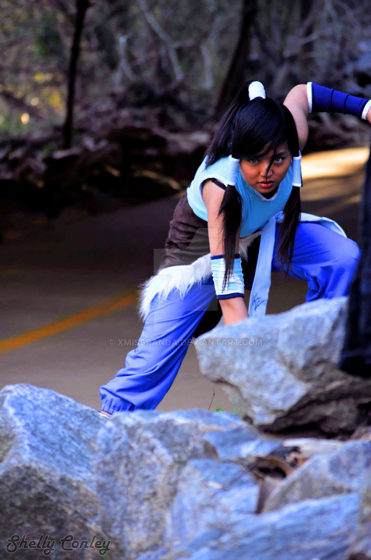 Hard as a rock - Legend of Korra by xMissPanda