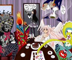 witches tea party by bluelight3
