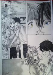 Naho y Kakeru by Akirachaan
