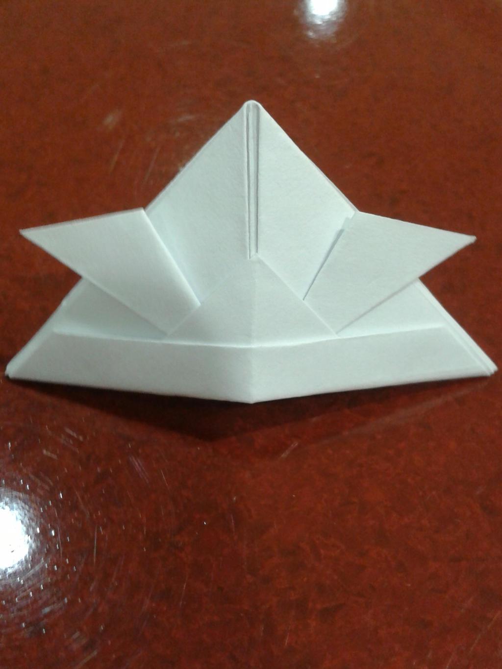 Helmet Base: How To Make An Origami Samurai Helmet | Origami 101 ... | 1366x1024