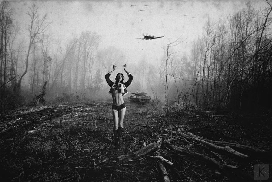 War queen by MrKetox