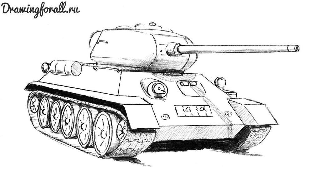 Картинки танка т 34 85