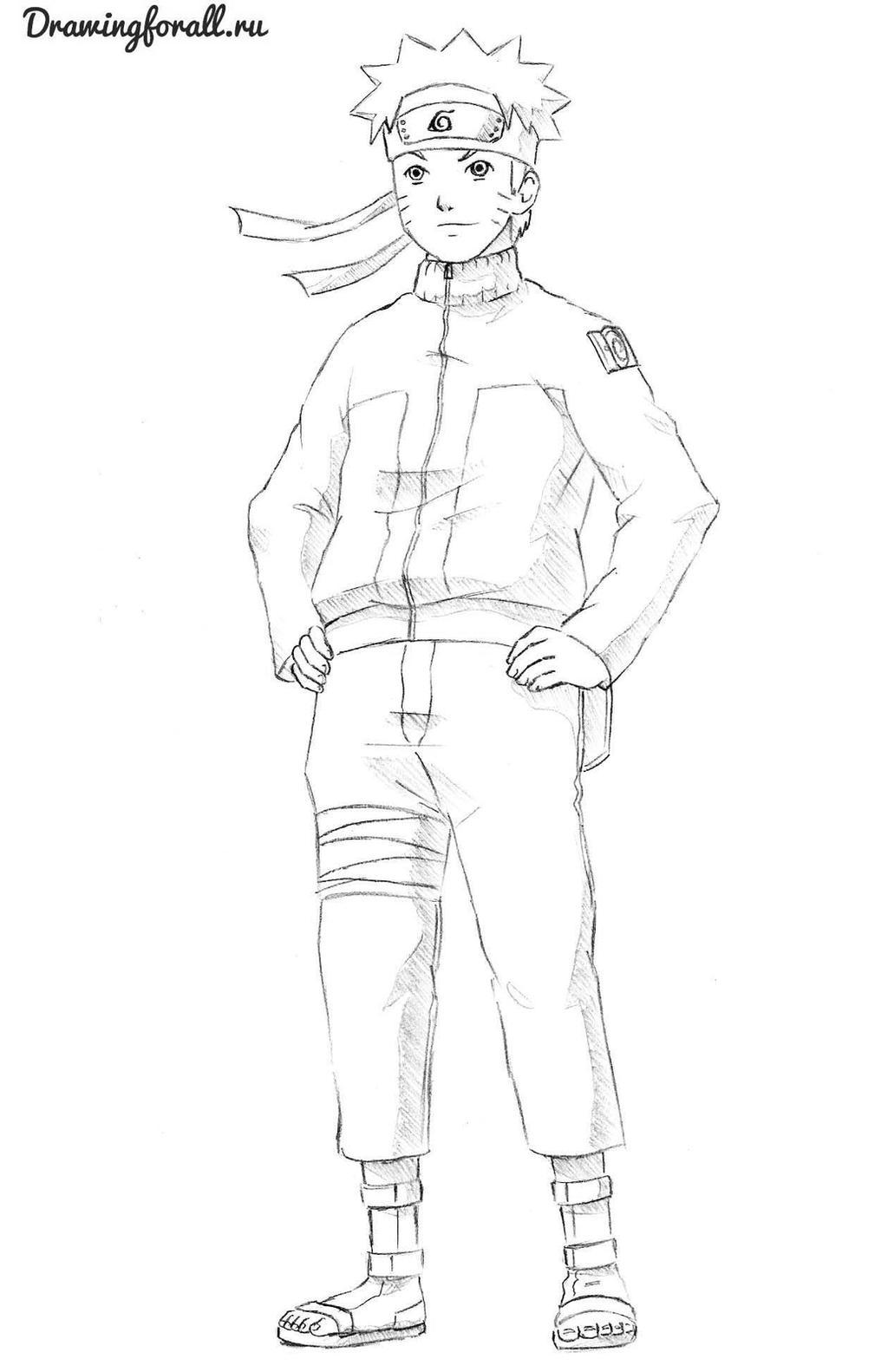 Naruto by SteveLegrand on DeviantArt