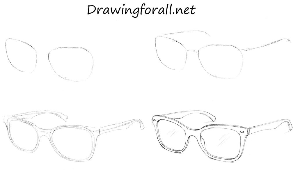 How to draw sunglasses by stevelegrand