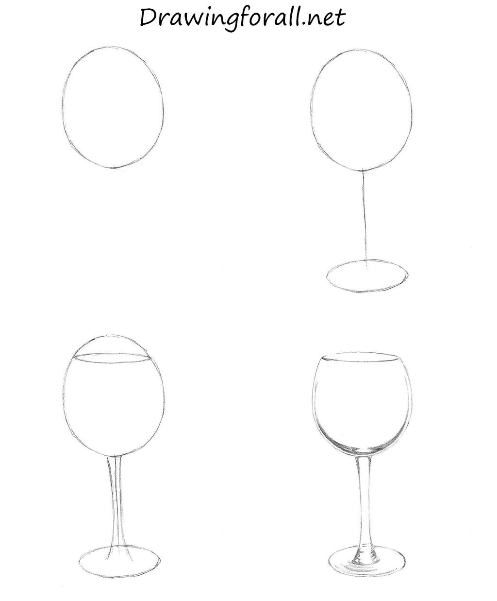 how to draw a wine glass by stevelegrand on deviantart
