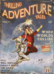 Thrilling Tales August 1936 by PaulFrancis