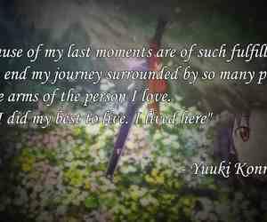 yuuki konno quote  by merleshiki