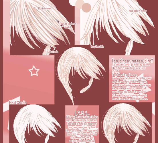 Anime Girl With Messy Hair: Anime Hair Tutorial By Demonicii On DeviantArt
