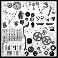Demonicii Steampunk Brushes by Demonicii