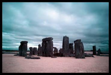 Stonehenge I.R. by rawrrrr-321