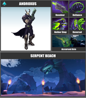 Super Smash Bros. Move List - Androxus by TheScaleTrain
