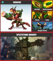 Super Smash Bros. Move List - Drogoz by TheScaleTrain