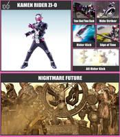 Super Smash Bros. Move List - Kamen Rider Zi-O by TheScaleTrain