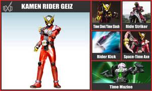 Super Smash Bros. Move List - Kamen Rider Geiz