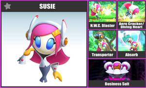 Super Smash Bros. Move List - Susie by TheScaleTrain