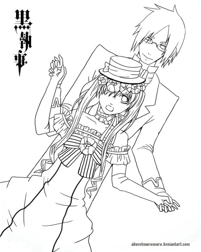 Kuroshitsuji - Lineart by adventmaromaro on DeviantArt