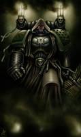 Dark Angels Chaplain by Filip-Hammer