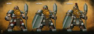 Dwarven Soldier - Character Progression