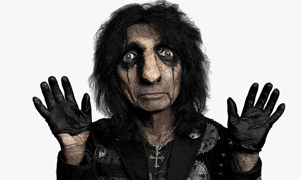 Alice Cooper Photoshop 1 by AndPlusAmpersandAlso