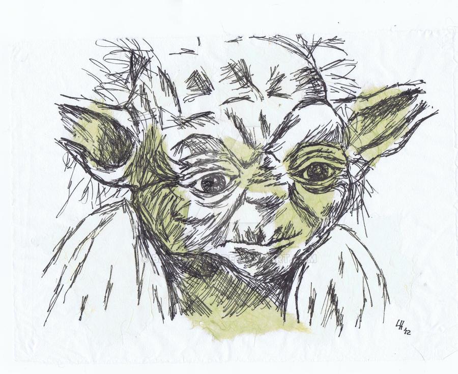 Yoda by Bluelisamh