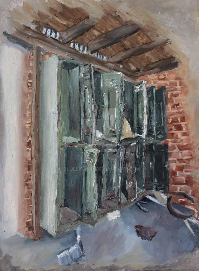 Locker Room by Bluelisamh