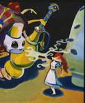 Alice and the Caterpillar by Futurum-Undam