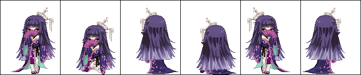 Purple Succubus [Art Trade - Faithi] by HinaTheSpinner