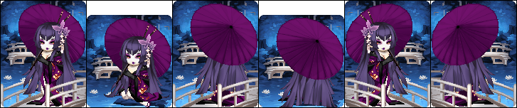 Purple Succubus 2 [Art Trade - Faithi] by HinaTheSpinner