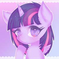 1. Twilight Sparkle by halcyondrop