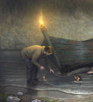 Catch (Fragment of new work) by KlimN