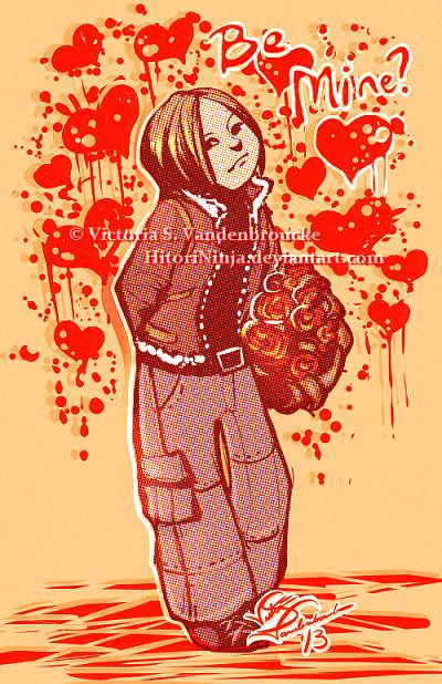 Leon S. Kennedy - Be Mine, Valentine? by MasterOfUnlocking