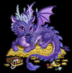 Treasure Dragon commission