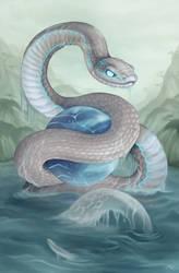 Year of the Snake 2013 by Sleepingfox