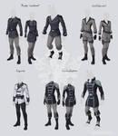 Darkreach uniforms