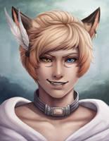 Shira Portrait by Sleepingfox