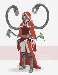 Ava Scarlet Concept by Sleepingfox