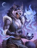 Werewolf Ingo by Sleepingfox