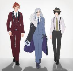 Suit Collection - Deidre's Crew
