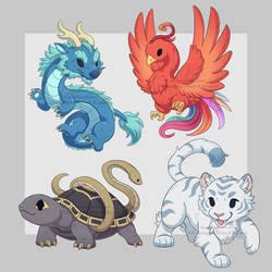 Lil Auspicious Beasts