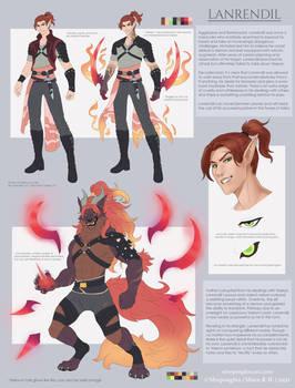 Lanrendil Character Sheet