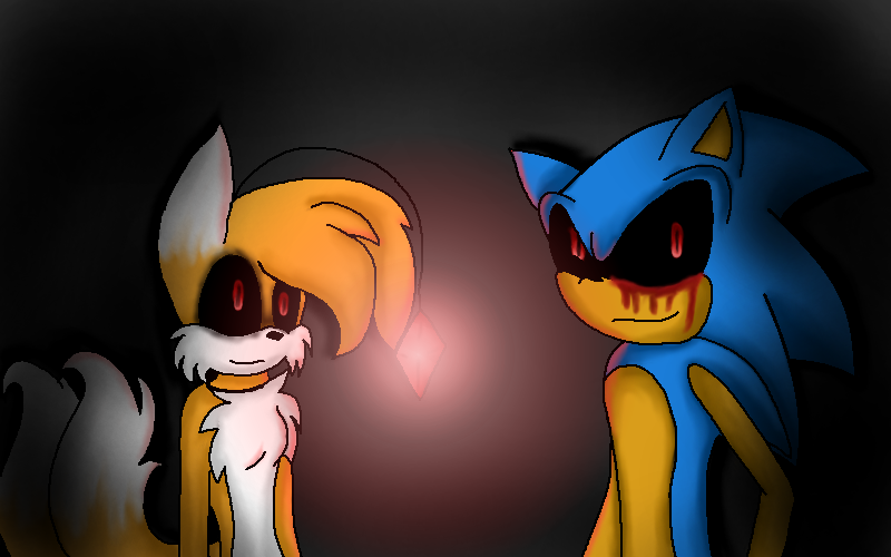 sonic exe X female tails doll by amberhedgelander on DeviantArt